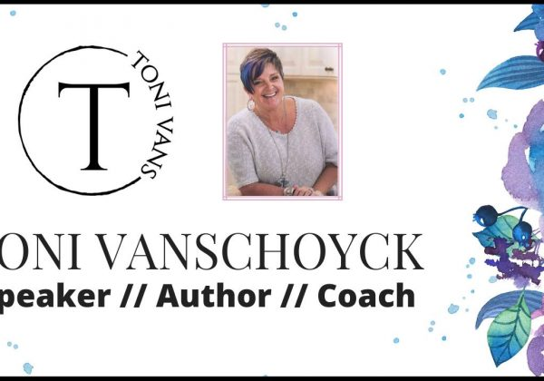 Toni Vanschoyck, Speaker, Author, Coach