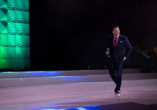 Antonio De Rosa on stage