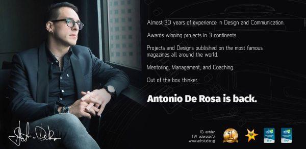 Antonio De Rosa. Visionary designer